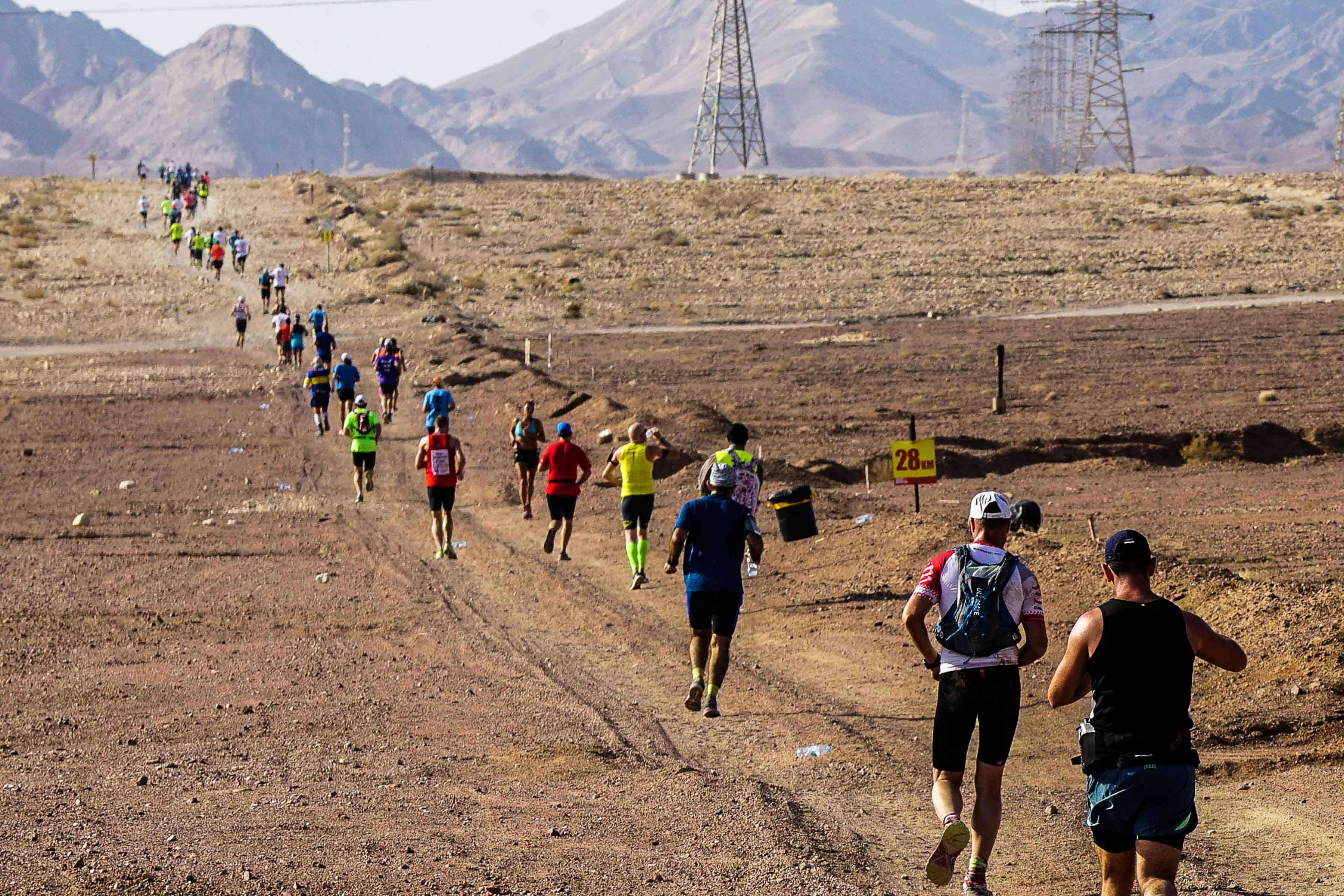 מרוץ מרתון מדברי אילת